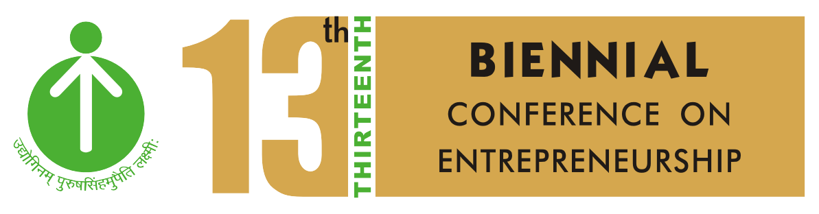Thirteenth Biennial Conference on Entrepreneurship